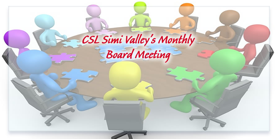 CSL Simi Valley Board of Trustees Meeting