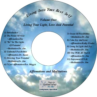 Purchase our Living Your Light CD