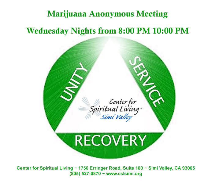 Wednesday Night Marijuana Anonymous Meeting