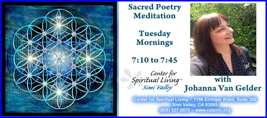 Sacred Poetry Meditation